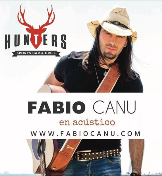 Fabio Canu live at Hunters 2019