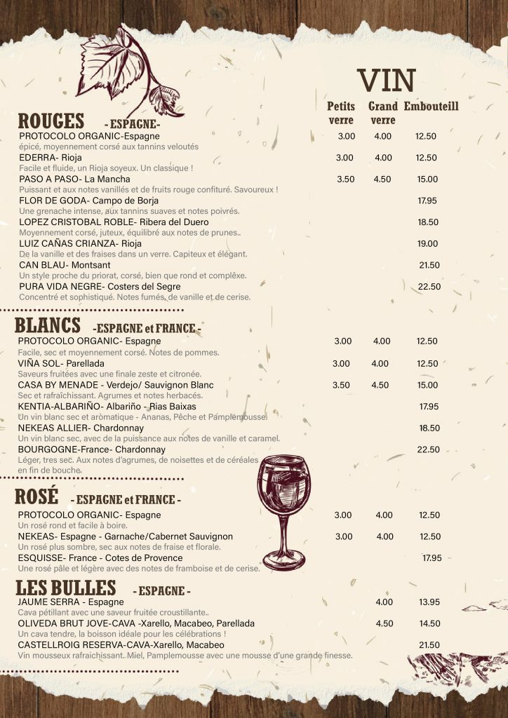hunters andorra wine list french 2